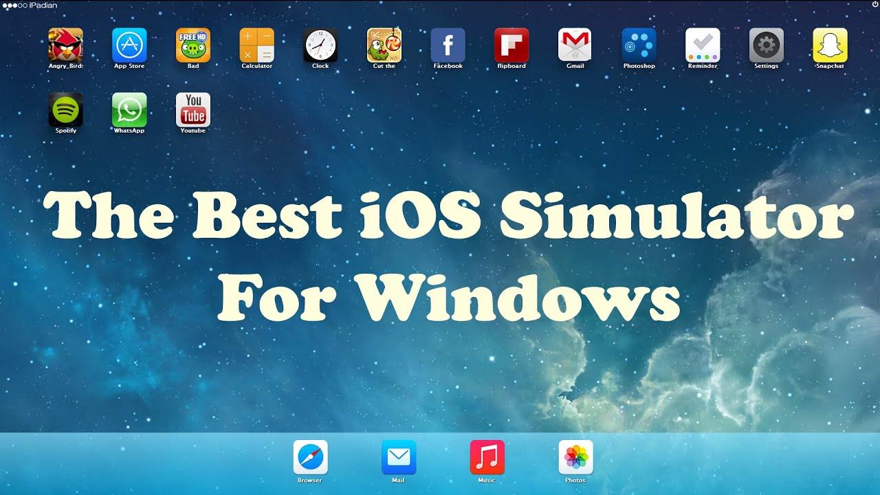 ipadian ios emulator for windows 7