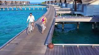 Luxury Water Villa at Fairmont Maldives