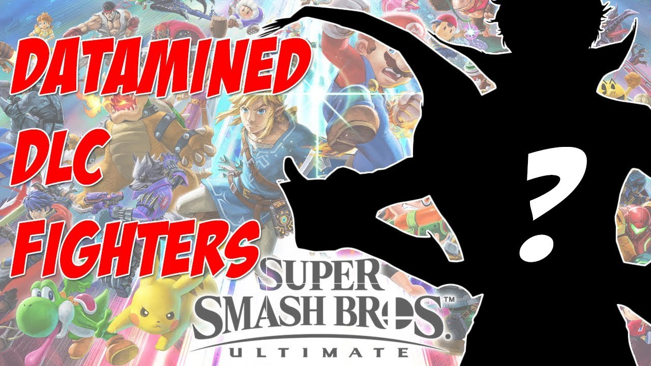 New Datamined DLC Fighters in Super Smash Bros Ultimate! Who is the next  fighter?