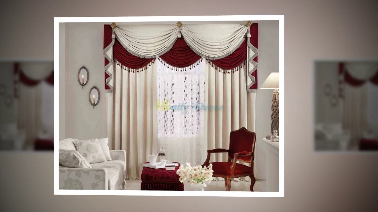 daily decor] living room curtain ideas for you - youtube