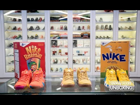 best quality 51b55 063f3 UNBOXING: Kyrie Irving Cereal Pack SPECIAL BOXES - Kix / Lucky Charms /  Cinnamon Toast Crunch