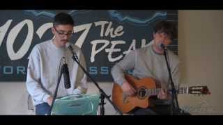 Alt-J (∆) - Dissolve Me (Acoustic) - LIVE in The PEAK Performance Lounge