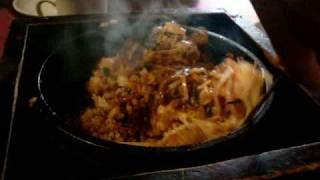 Tokyo Table: Sukiyaki Beef Bibimbap Rice Stirring
