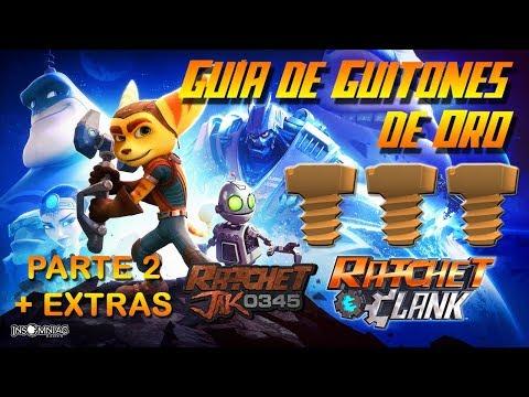 Guía de Guitones de Oro de Ratchet & Clank PS4 (Parte 2 + Extras) (PS4 Gold Bolts)