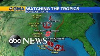 Gulf Coast prepares for tropical threat