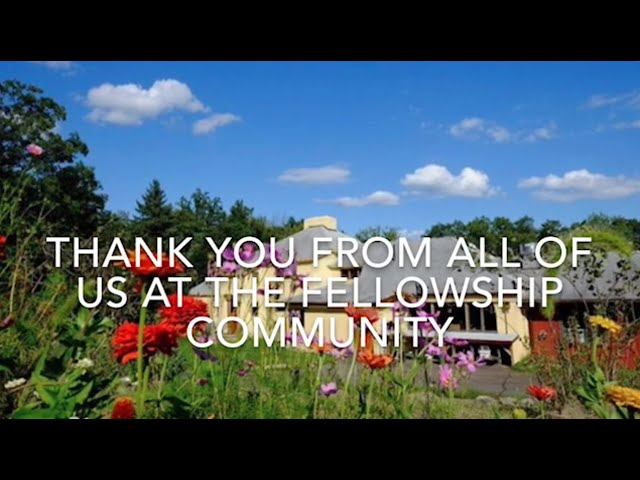 Thank You from the Fellowship Community!