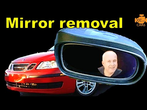 How to Replace Saab 9-3 Door Mirror | WITHOUT Removing Door Casing