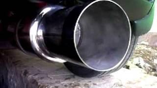 Knalpot racing mobil Mazda 2