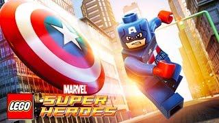 CAPTAIN AMERICA LEGO Marvel Super Heroes | Game Lego Videos for Children