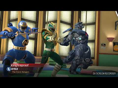 Psycho Red Gameplay(Power Rangers Legacy Wars)
