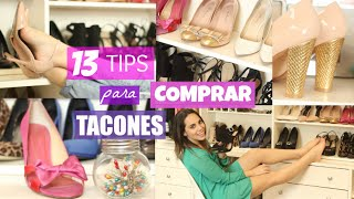 CÓMO COMPRAR LOS TACONES IDEALES + TIPS PARA EL CONFORT  | What The Chic