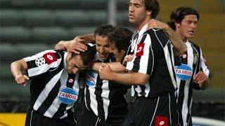 vuclip 09/04/2003 - Champions League, quarter-final first leg - Juventus-Barcelona 1-1