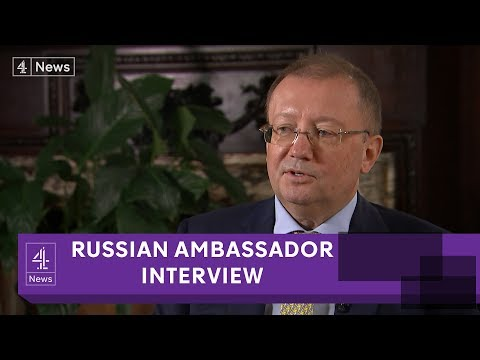 Russian Ambassador Alexander Yakovenko: Douma 'chemical attack' was 'staged'