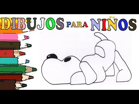 cómo-dibujar-a-loula,-la-perrita-de-pocoyo.-tutorial-muy-fácil-con-modelo.-dibujos-para-niños.