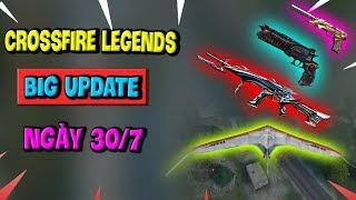 CrossFire: Legends Cập Nhật BIG UPDATE 30/7 - Thêm Chế Độ Sinh Tồn, Vũ Khí Mới, Bản Đồ Mới