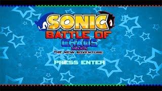 Sonic Battle Of Chaos MUGEN New Adventure (Fan Game)