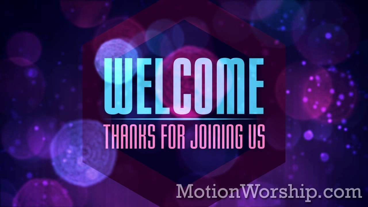 Bokeh Avalanche Welcome Hd Loop By Motion Worship Youtube