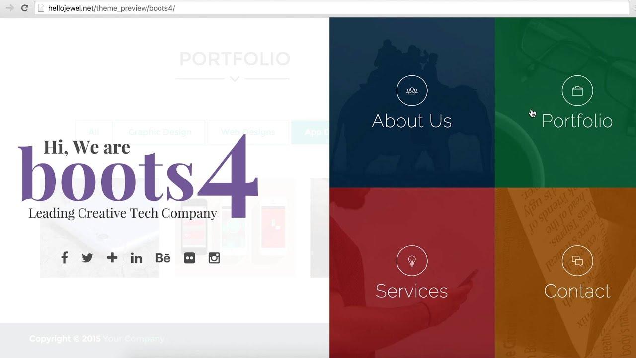 Erfreut Kostenlose Bootstrap Portfolio Vorlage Bilder - Beispiel ...