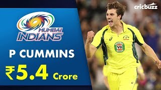 Mumbai Indians obtain services of Pat Cummins for 5.4 Crore