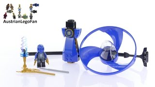 Lego Ninjago 70740 Airjitzu Jay Flyer - Lego Speed Build Review