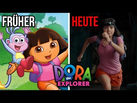 Cartoons: FRÜHER VS HEUTE (Neuverfilmungen) | Jay & Arya