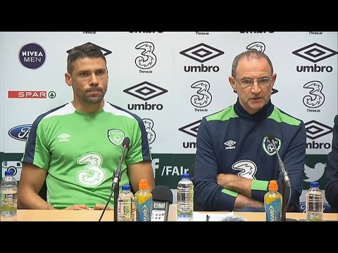 Republic of Ireland v Oman - Pre Match Press Conference - Martin O'Neill and Jon Walters (30/8/16)