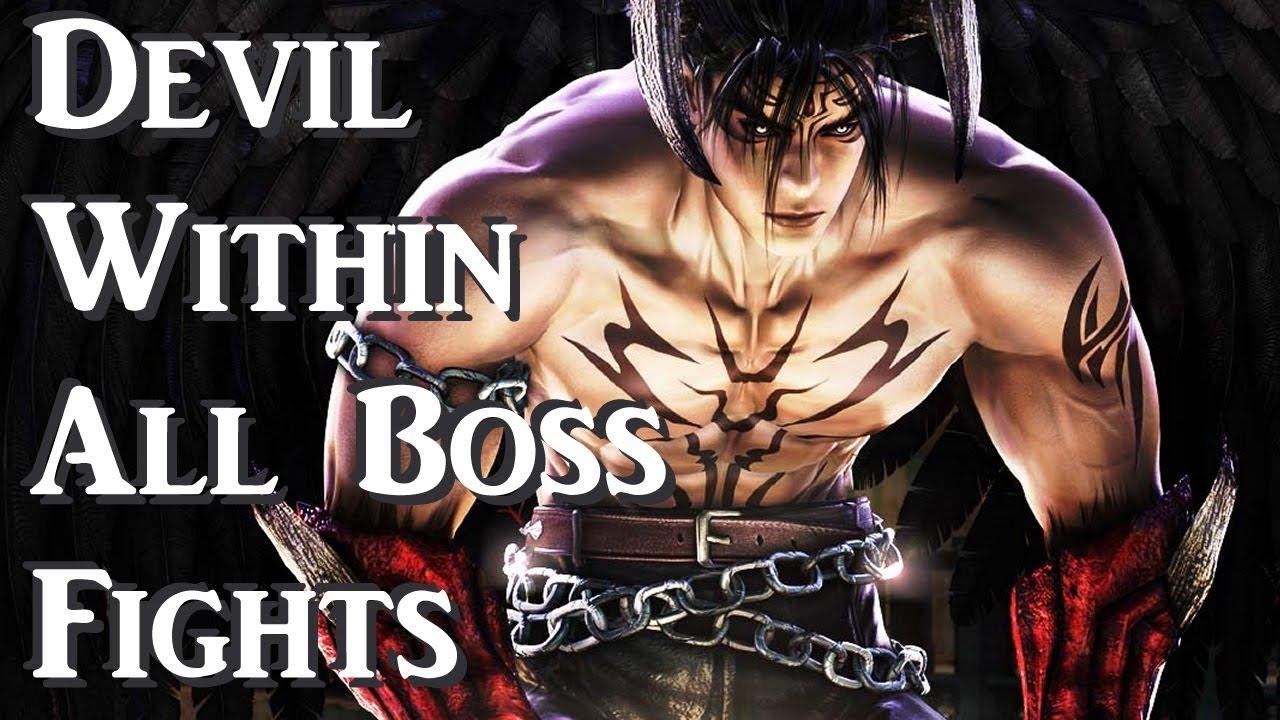 Tekken 5 Devil Within All Boss Fights Youtube