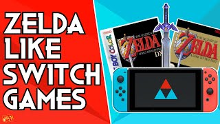 4 Awesome Cheap Retro Zelda Inspired Nintendo Switch Eshop Games! | Retrowolf88