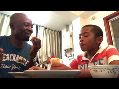 Cameroon eton language  daddy and samuel