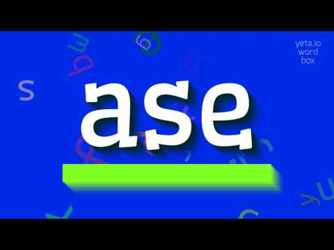 "How to say ""ase""! (High Quality Voices)"