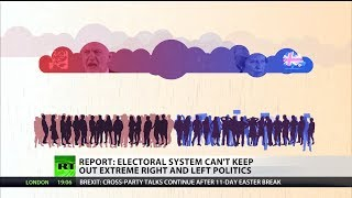 Report: Electoral system can't keep out extreme right and left politics