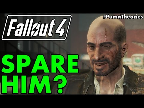 What would happen if you could spare Kellogg? Fallout 4 Theory #PumaTheories