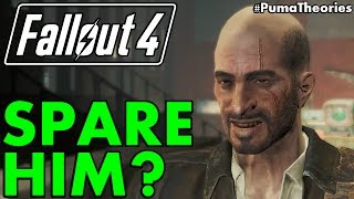 What would happen if you could spare Kellogg Fallout 4 Theory PumaTheories
