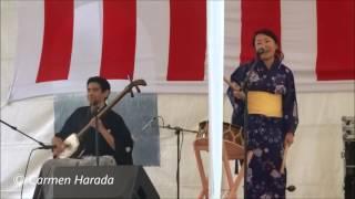 Akimatsuri 2016, Asociación México Japonesa. 小喜楽 三味線:ロドリ...