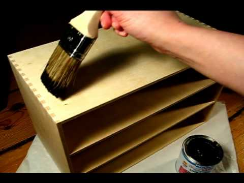 tutorial diy make up aufbewahrung youtube. Black Bedroom Furniture Sets. Home Design Ideas