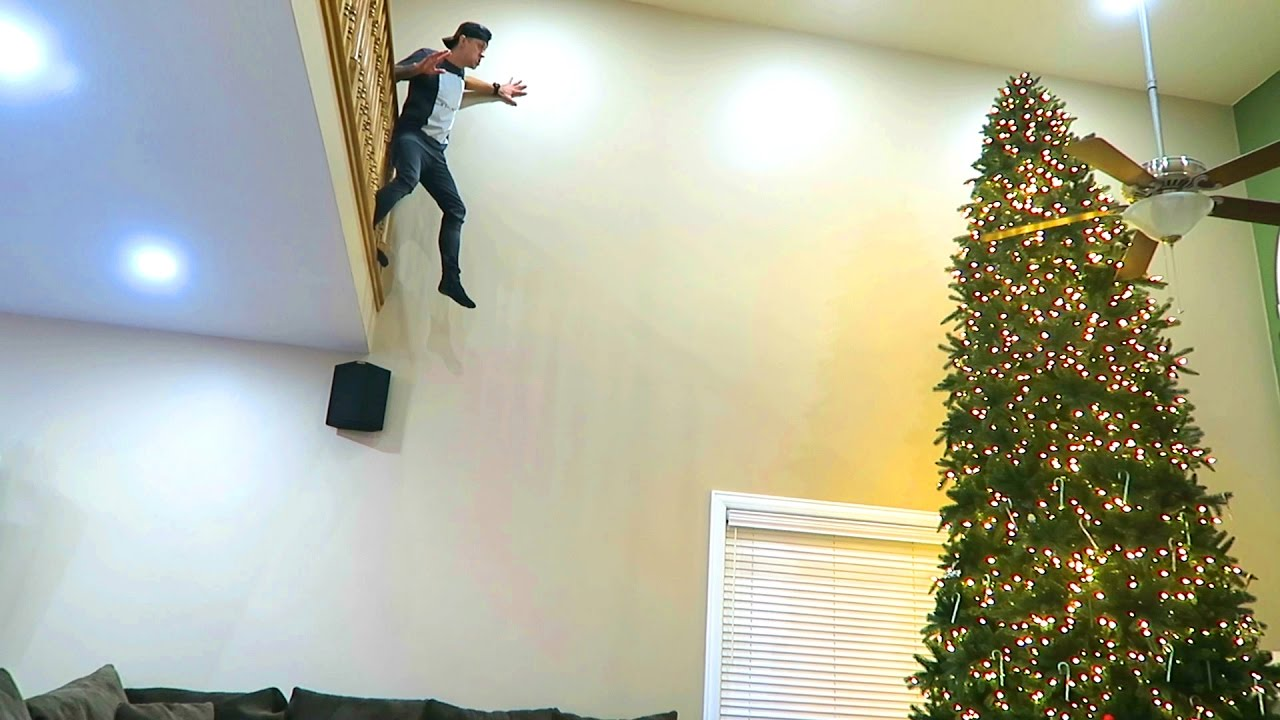 IMPOSSIBLE TREE JUMP!! - YouTube