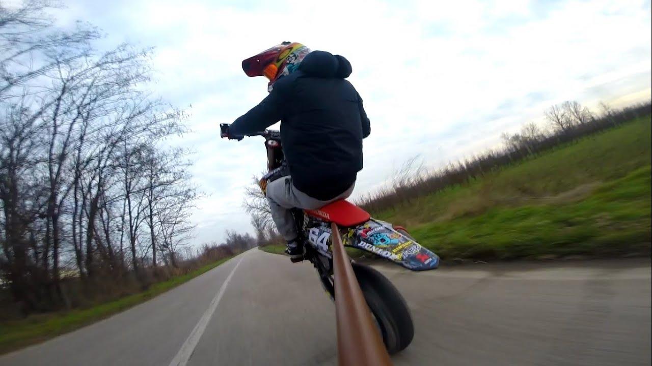 Whellie Honda Crf 450 Youtube