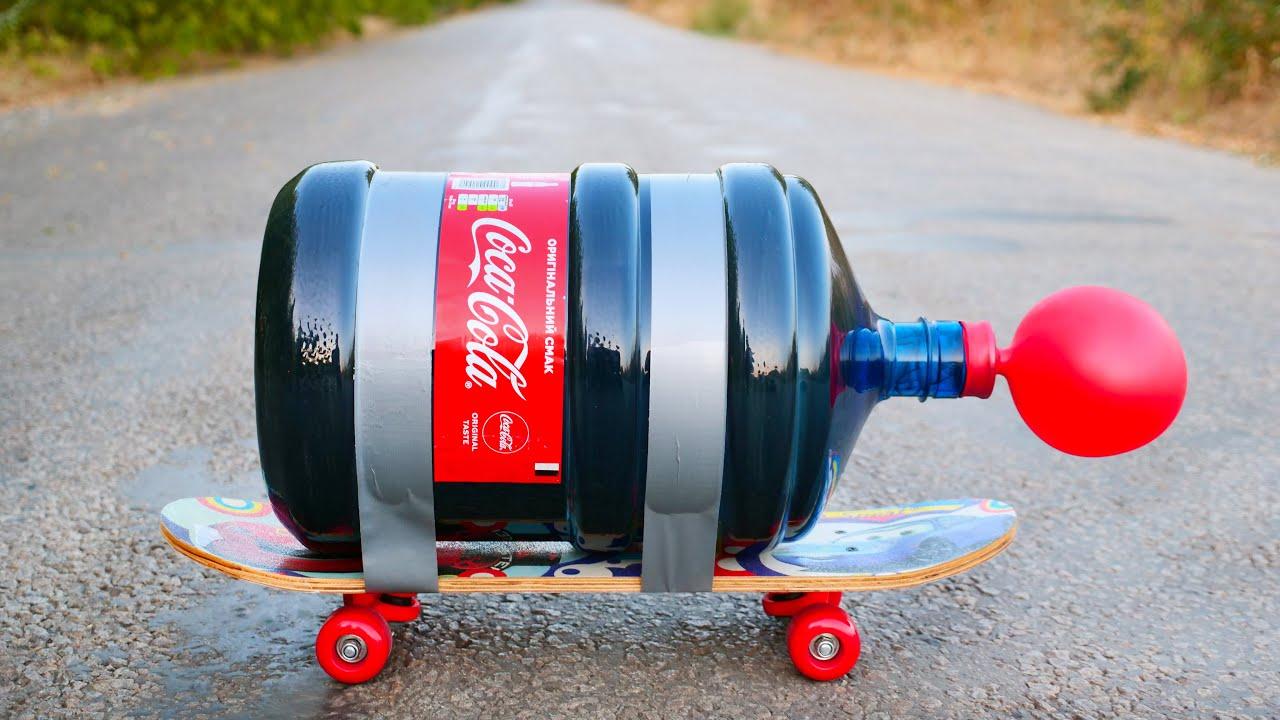 XXL Coca-Cola Rocket vs Mentos
