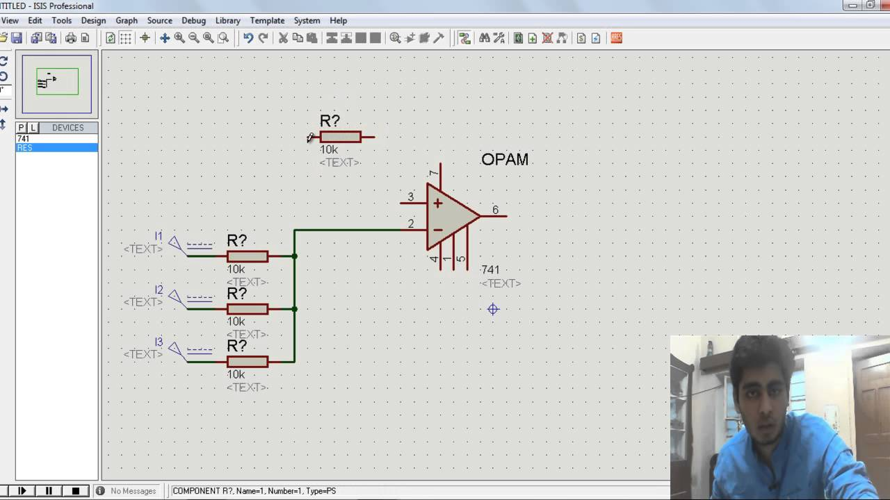Summing Amplifier Using Opam Youtube Operational Amplifiers