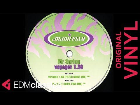 Mr Spring - Voyager 1.56 (Filter Kings Mix) (1998) - VINYL