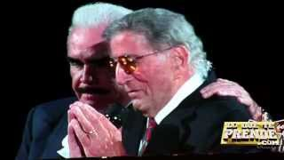 Chente and Tony Bennett on how to respect singers in America!
