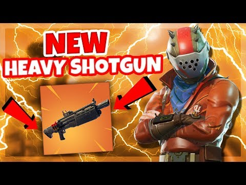 *NEW* HEAVY SHOTGUN IS HERE!!! LETS GO FOR SOME WIINSS!! | Fortnite Battle Royale (PC)