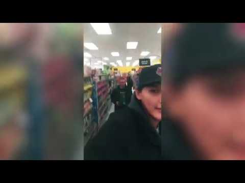 Native Teen Harassed By White Guy In Canadian Store - Racial Profiling
