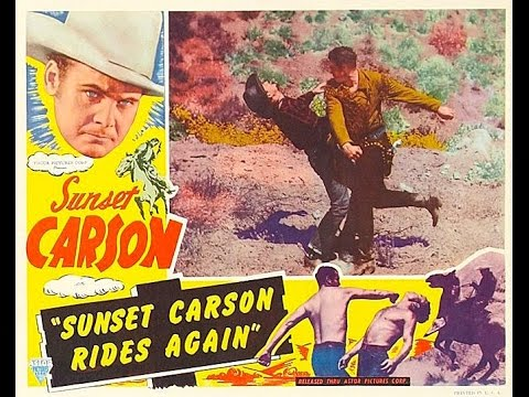 Sunset Carson Rides Again COLOR Western Movie Full Length