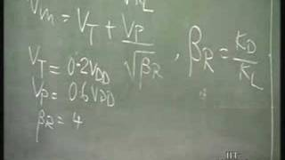 Lecture 25 nMOS Logic Circuits(cont..,); CMOS :Introduction