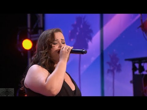 Thumbnail: America's Got Talent 2017 Joli Mayor Singer Gets Called Out by Simon Full Audition S12E01