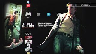 Игры #PSPlus МАРТ 2015 - Sherlock Holmes Crimes and Punishments