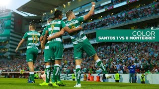 embeded bvideo COLOR | Santos Laguna vs Monterrey