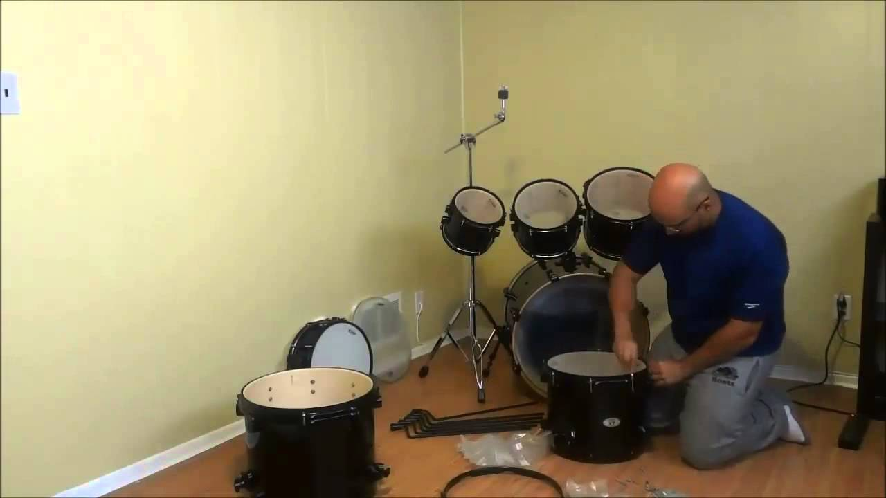 Setting Up A PDP X7 Drum Set 7 Piece Maple Kit
