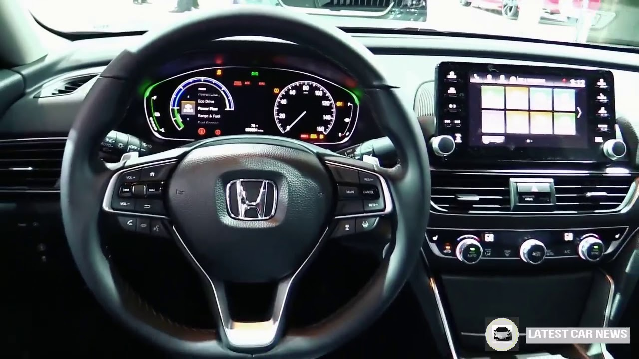 New 2019 2019 Honda Accord Hybrid Exterior And Interior